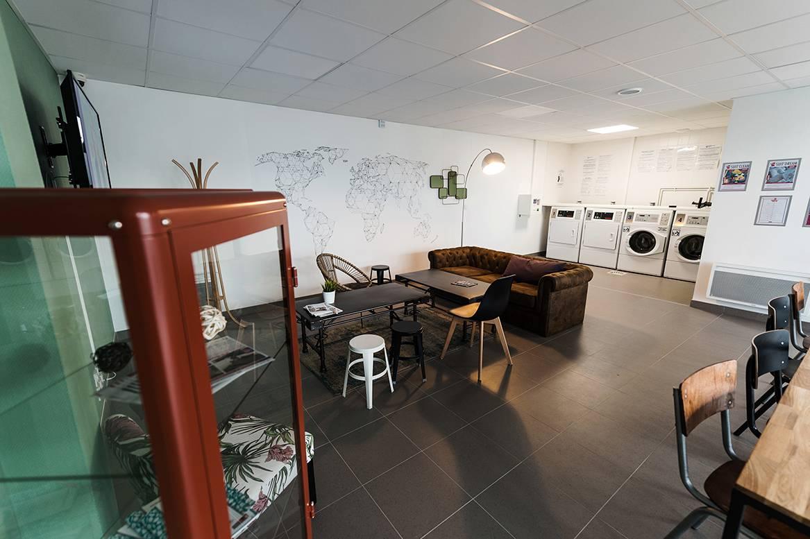 laverie résidence location moyen séjour à Rennes