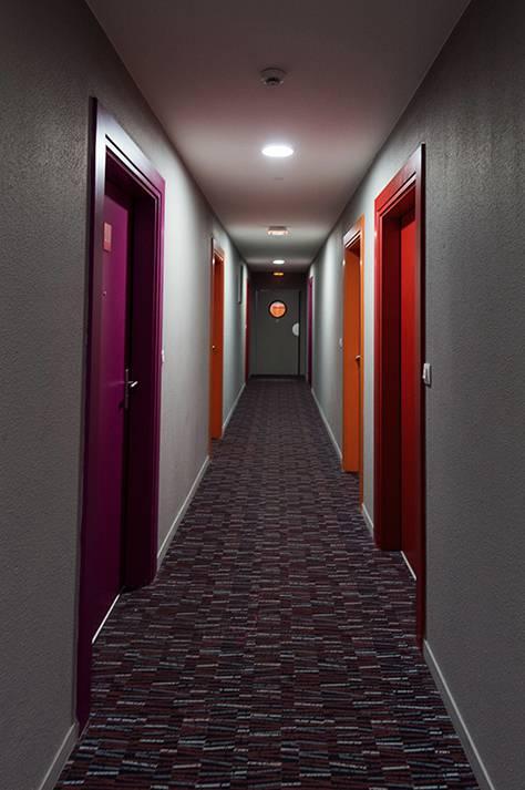 couloir résidence location séjour à Rouen
