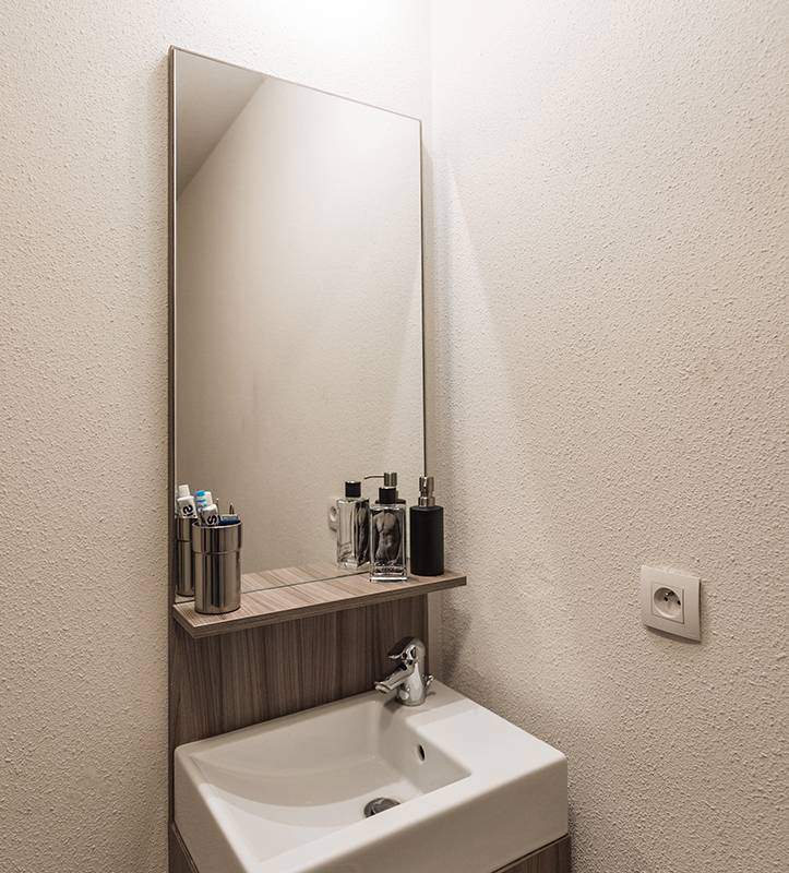 salle de bain location court séjour à Rouen