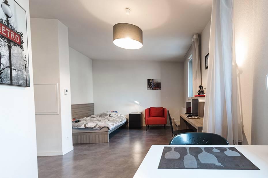 studio location moyen séjour à Rouen