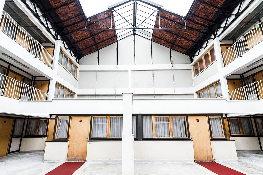 extérieur résidence location moyens séjour à Lyon
