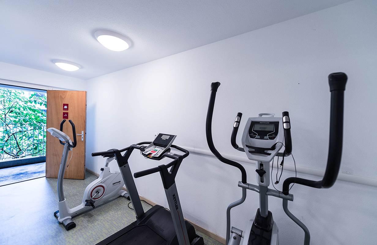 salle de fitness résidence location moyen séjour à Lyon