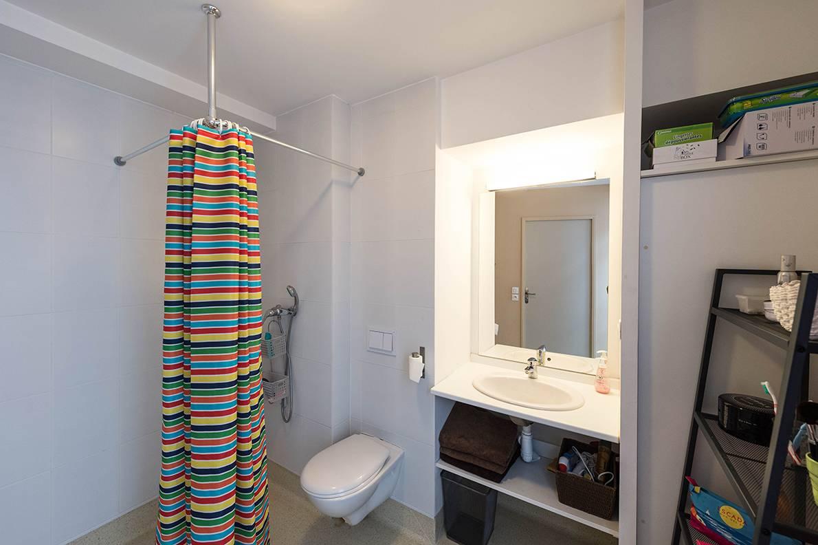 salle de bain location court séjour à Lyon