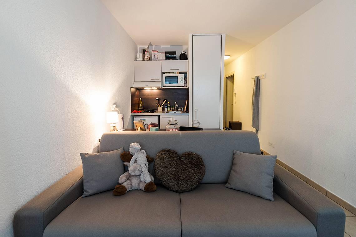 studio avec kitchenette location court séjour à Annemasse