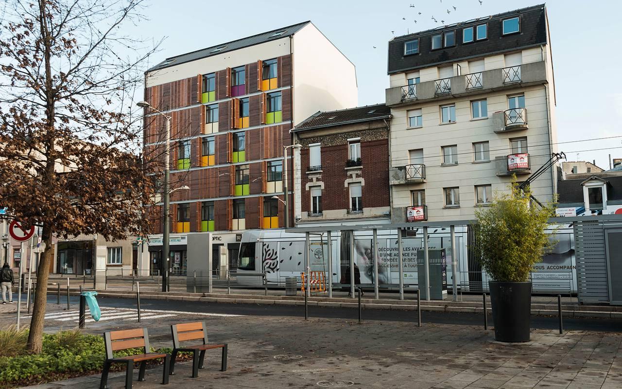 extérieur résidence location court séjour à Reims