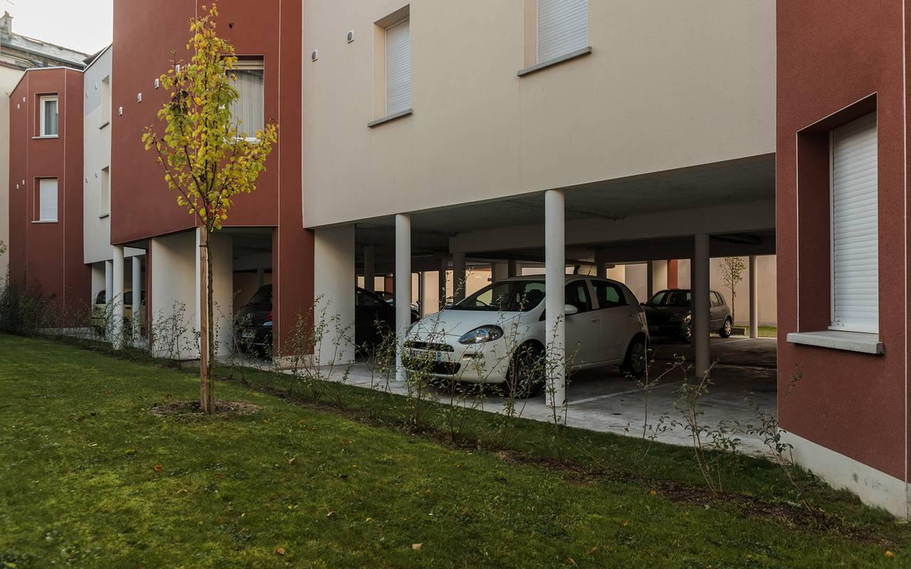 extérieur résidence location saisonnière à Reims