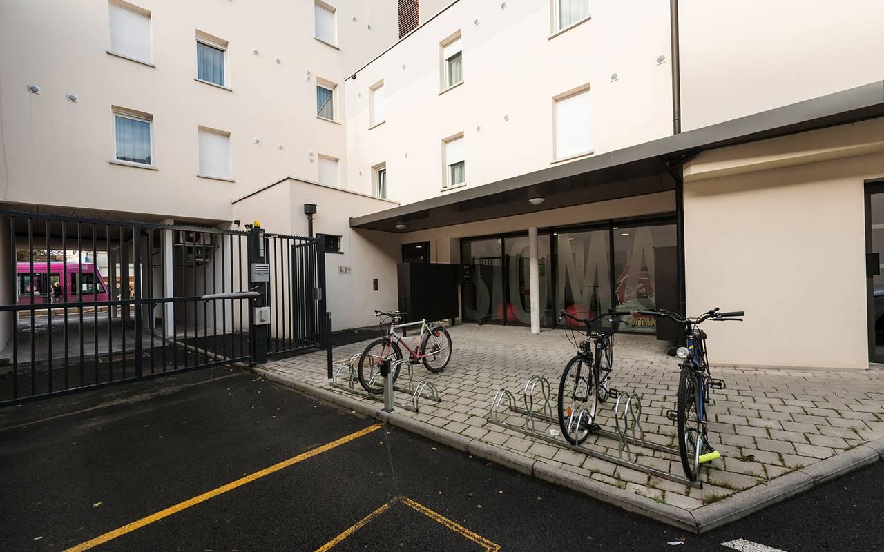 extérieur résidence location séjour à Reims